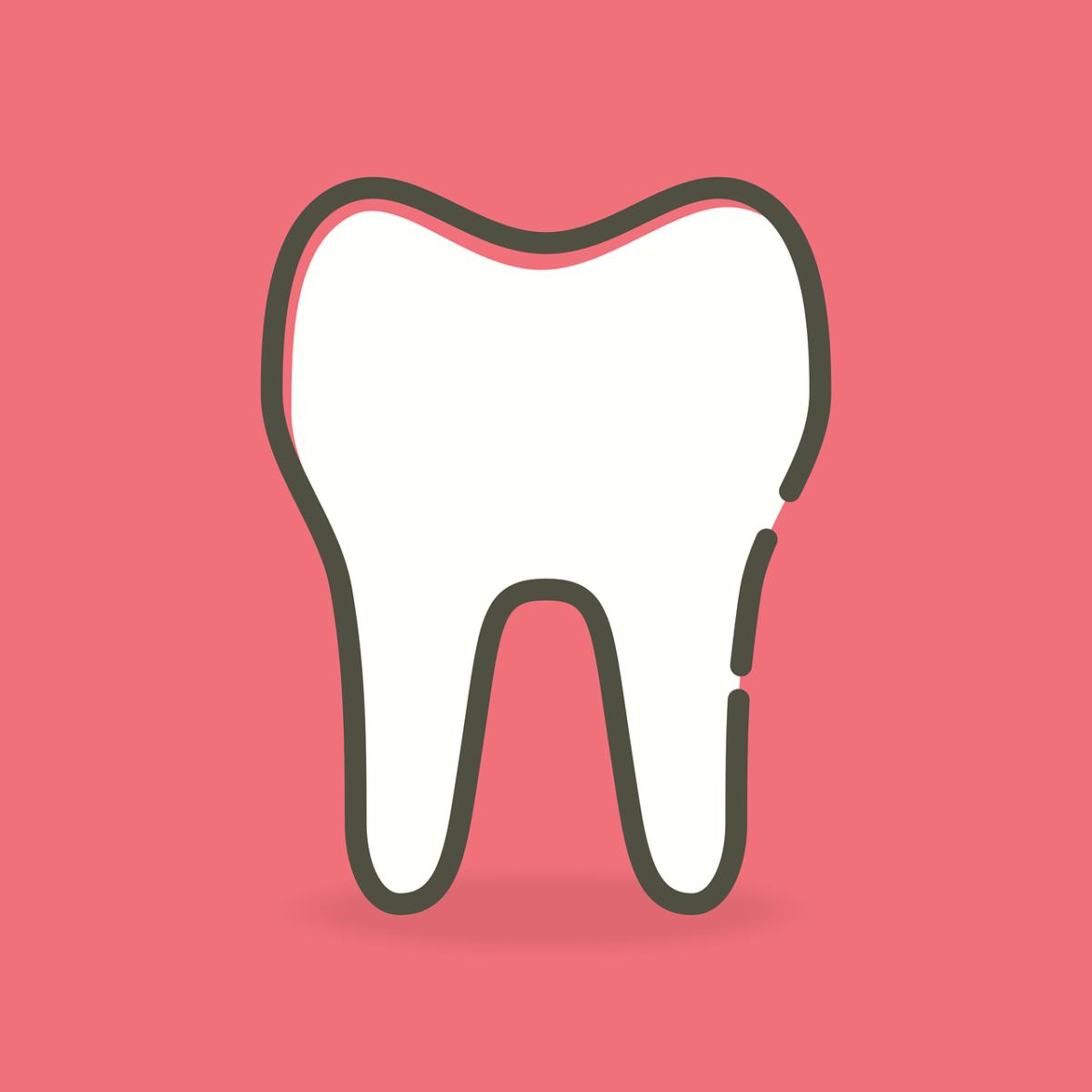 Prześliczne urodziwe zęby również powalający prześliczny uśmieszek to powód do zadowolenia.